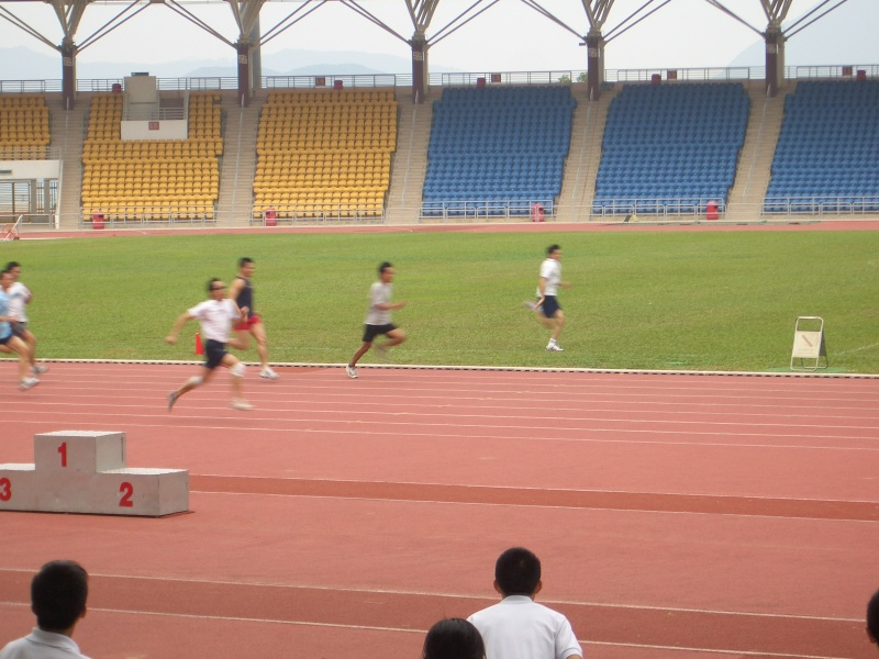 Teachers' 100m race